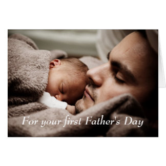 New Dad Happy Father's Day Card
