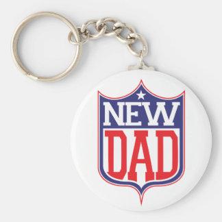 New Dad Keychains