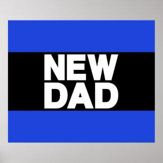 New Dad Lg Blue Print