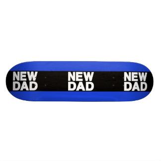 New Dad Lg Blue Skateboard Deck