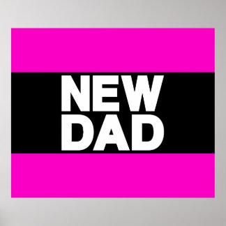 New Dad Lg Pink Print