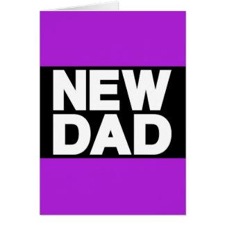 New Dad Lg Purple Cards