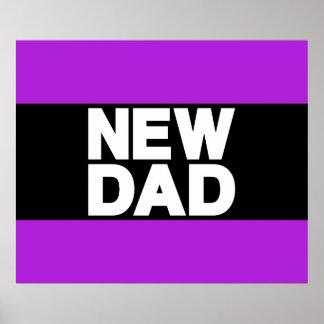 New Dad Lg Purple Print