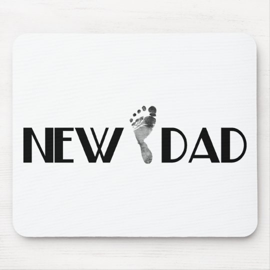 New Dad Mouse Pad