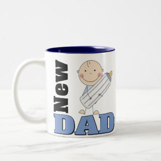 New Dad Two-Tone Coffee Mug