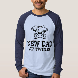 New Dad of Twins T-Shirt