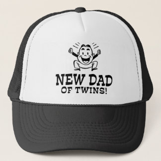 New Dad of Twins Trucker Hat