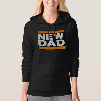 New Dad Orange Hoodie