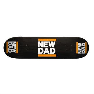 New Dad Orange Skateboard Deck