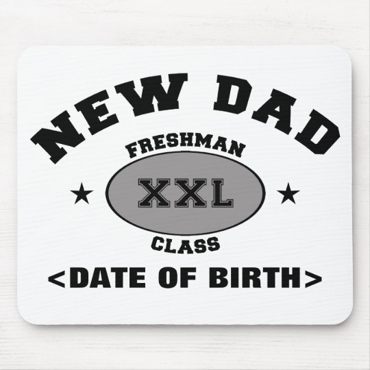 New Dad Personalized Gift XXL Mouse Pad