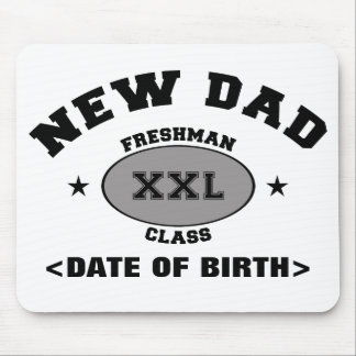 New Dad Personalized Gift XXL Mouse Pads