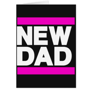 New Dad Pink Card