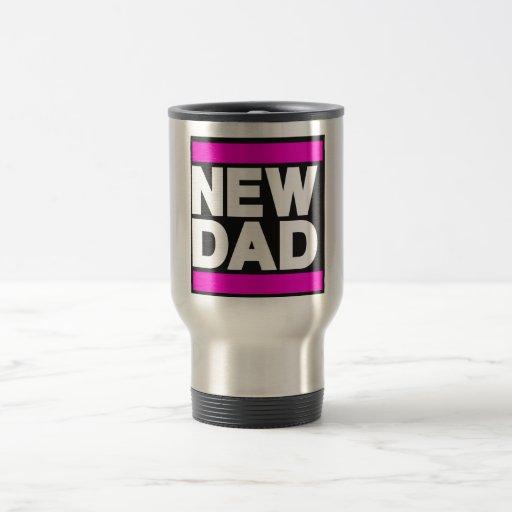 New Dad Pink Mug