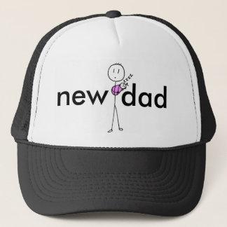 New Dad (pink) Trucker Hat