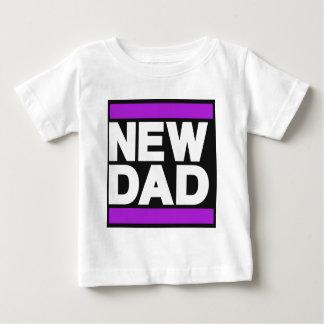 New Dad Purple Baby T-Shirt