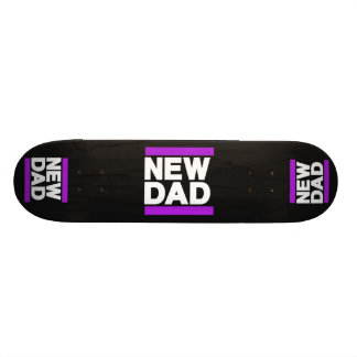 New Dad Purple Skateboard Decks