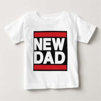 New Dad Red Baby T-Shirt
