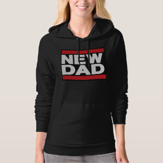New Dad Red Hoodie