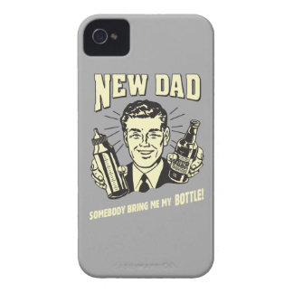 New Dad: Somebody Bring Me My Bottle iPhone 4 Cover