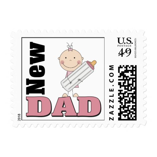 New Dad Stamp