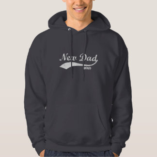 New Dad Sweatshirt Hoodie, Custom Year