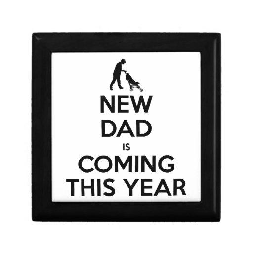 New Dad This Year Keepsake Boxes