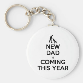 New Dad This Year Keychain