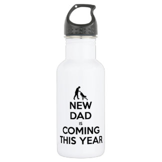 New Dad This Year Stainless Steel Water Bottle