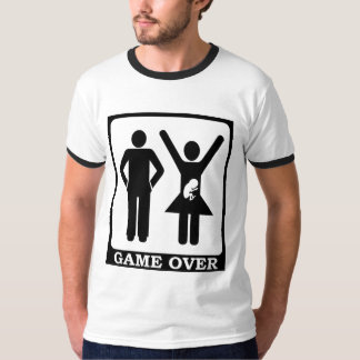 New Dad to Be - Game Over Tee Shirt