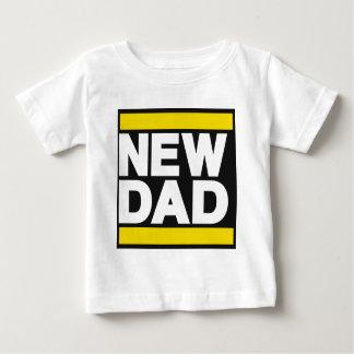 New Dad Yellow Baby T-Shirt