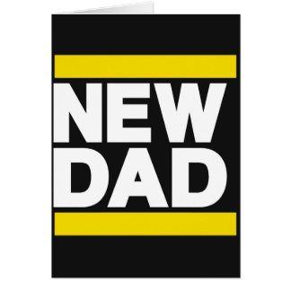 New Dad Yellow Cards