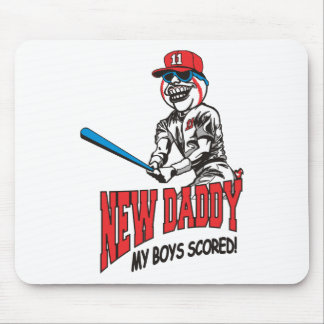 New Daddy 2011 My Boys Scored Mouse Pad