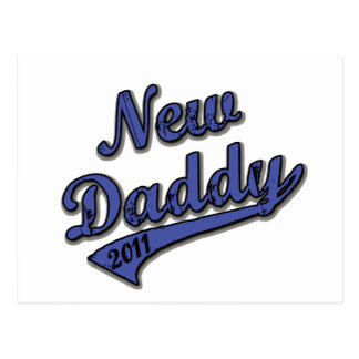 New Daddy 2011 Postcard