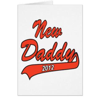New Daddy 2012 Card