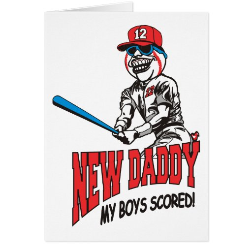 New Daddy 2012 My Boys Scored Card