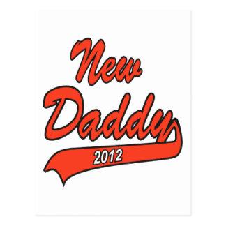New Daddy 2012 Postcard