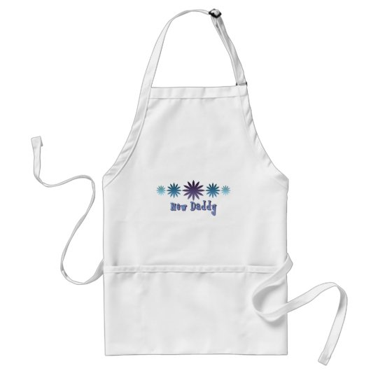 New Daddy Adult Apron