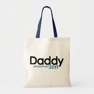 New Daddy Established 2011 Tote Bag