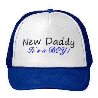 New Daddy Its A Boy Trucker Hat