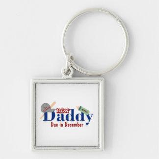 New Daddy Keychain