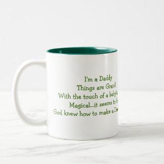 New Daddy!,Mug Two-Tone Coffee Mug
