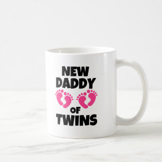 New Daddy of Twins Daughters Girls funny Coffee Mug