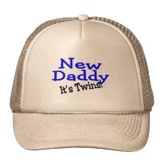 New Daddy of Twins Trucker Hat