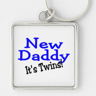 New Daddy of Twins Key Chains
