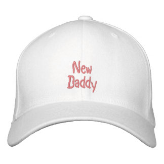 New, Daddy-Pink(Girl)-Embroidered Hat