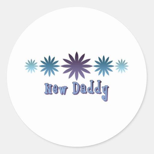 New Daddy Stickers