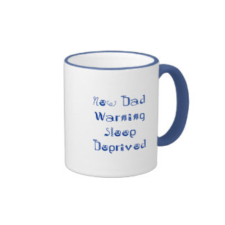 New DadWarning Sleep Deprived Mug