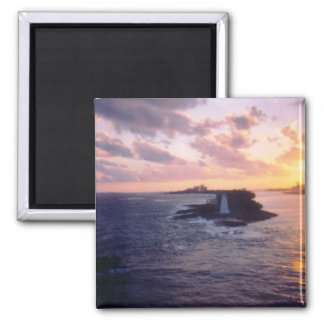 New Day 2 Inch Square Magnet