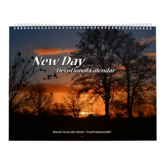 New Day Devotional Calendar two page