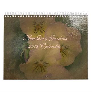 New Day Garden's 2012 Calendar- Antiqued Style